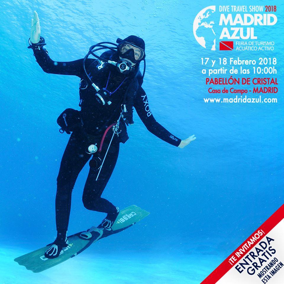 Invitación Madrid Azul Show