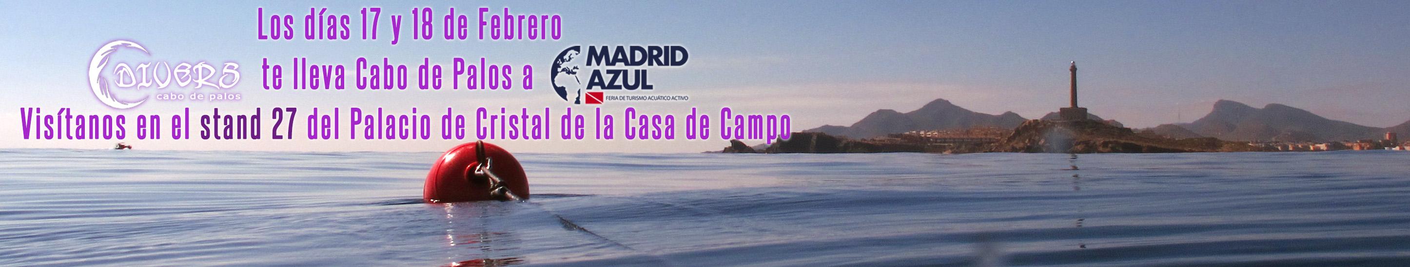 Divers Cabo de Palos en la feria de buceo Madrid Azul
