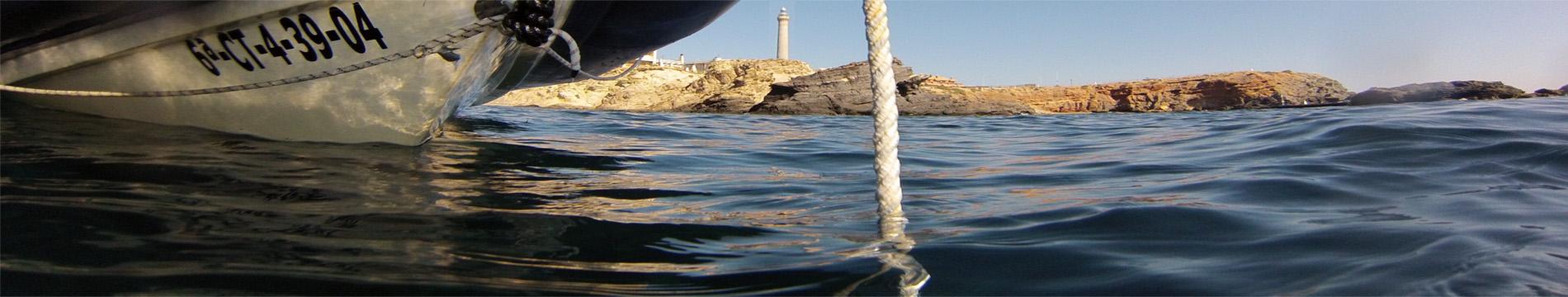 El Faro desde Cala Correos