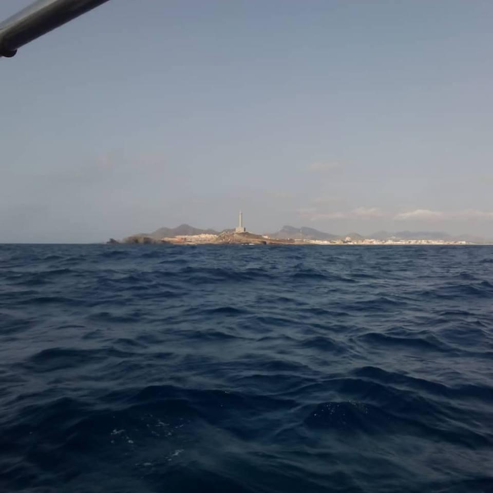Limpieza de superficie y fondos marinos de Cabo de Palos