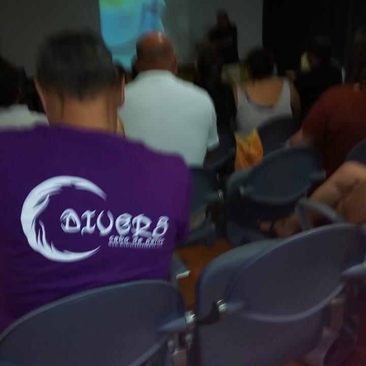 En la presentación de la limpieza de superficie y fondos marinos de Cabo de Palos