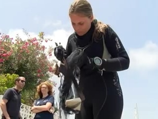 Basura extraida de la limpieza de superficie y fondos marinos de Cabo de Palos