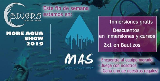 Divers Cabo de Palos en la Feria Mas de buceo